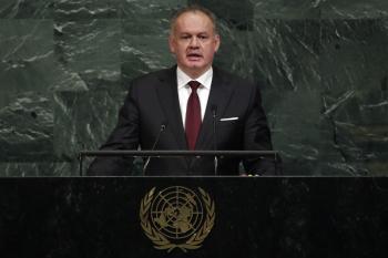 ZÁZNAM: Prejav prezidenta Andreja Kisku na Valnom zhromaždení OSN